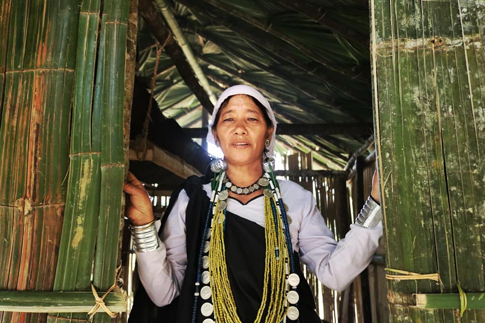 Portrait of a Galo Woman in Basar, Arunachal Pradesh