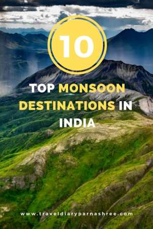 Chasing India's Monsoon? 10 Exciting Monsoon Destinations for you