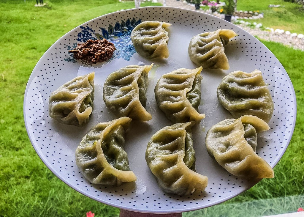 Homemade momos at Dirang Boutique Cottages