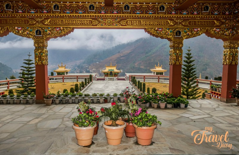 Overview of Dirang from Dirang Monastery, Arunachal Pradesh