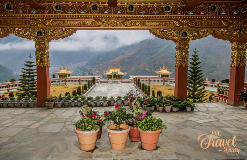 Overview of Dirang from Dirang Monastery, Arunachal Pradesh