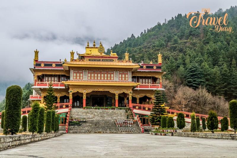 Dirang Monastery in Dirang, Arunachal Pradesh