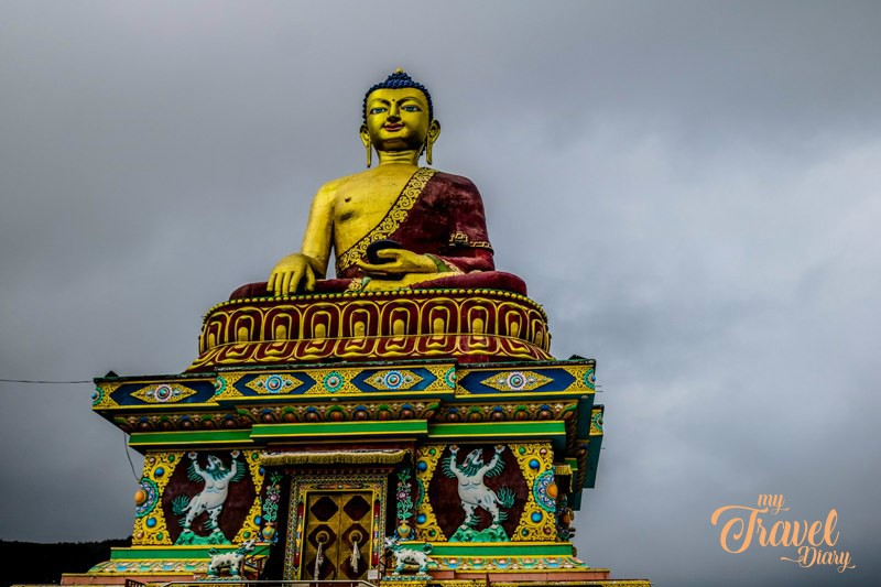 Visiting Giant Buddha Statue in Tawang is one of the Offbeat experiences in Tawang, Arunachal Pradesh