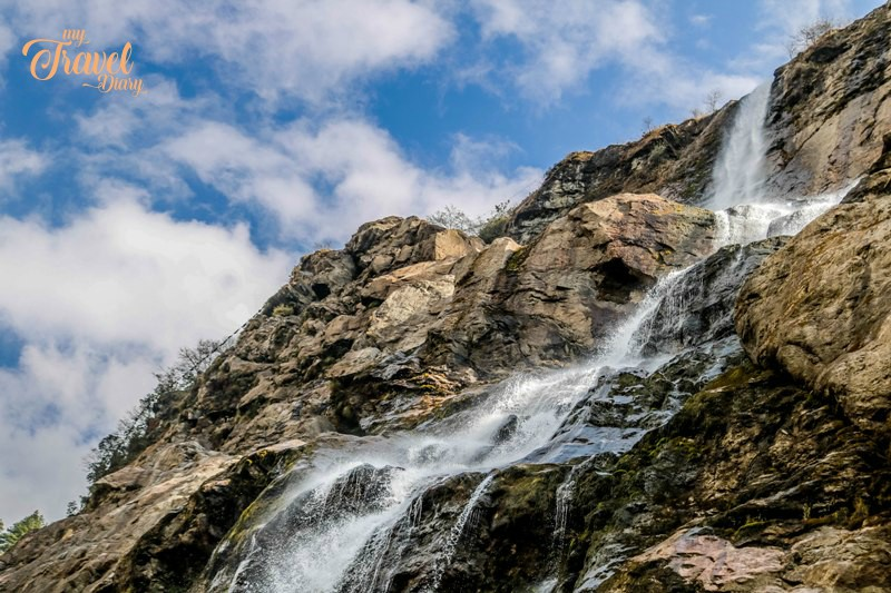 Nuranang Waterfalls is a must visit offbeat places in Tawang. Stand in awe of the waterfalls is nothing less than an offbeat experience in Tawang