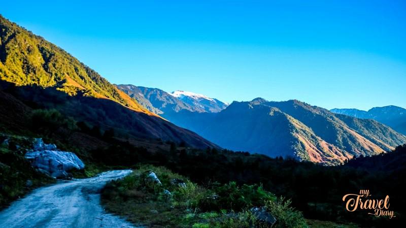 Dri Valley in Anini , Arunachal Pradesh