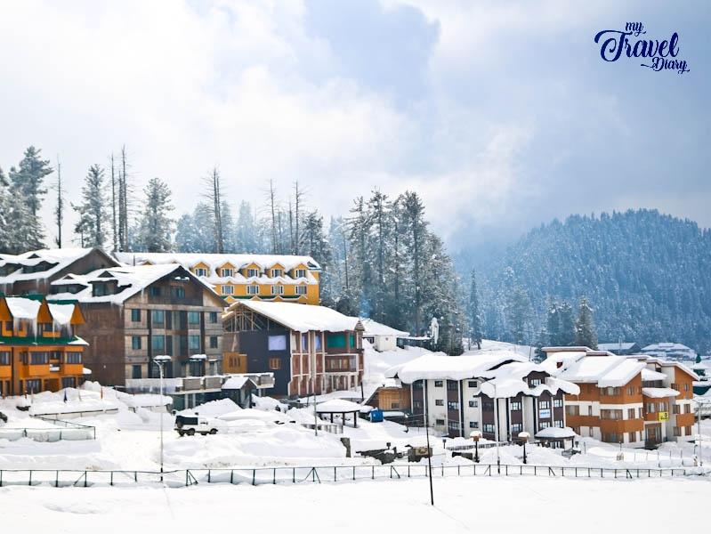 Captivating Gulmarg in winter, Kashmir