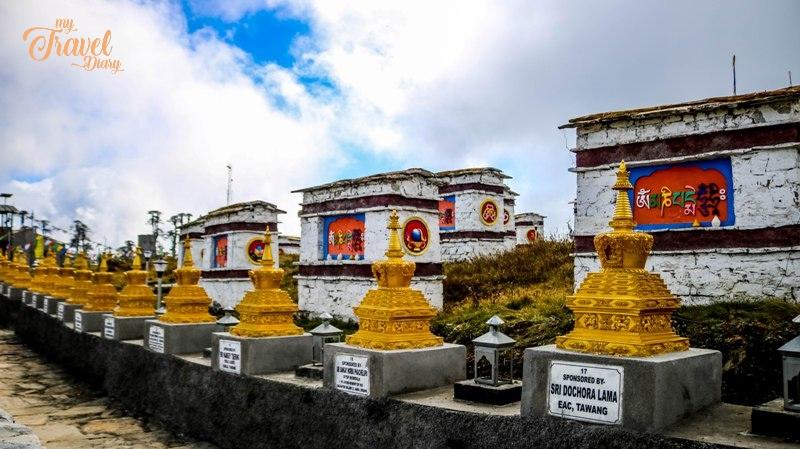 108 Mane seen at the entrance of Mandala Top