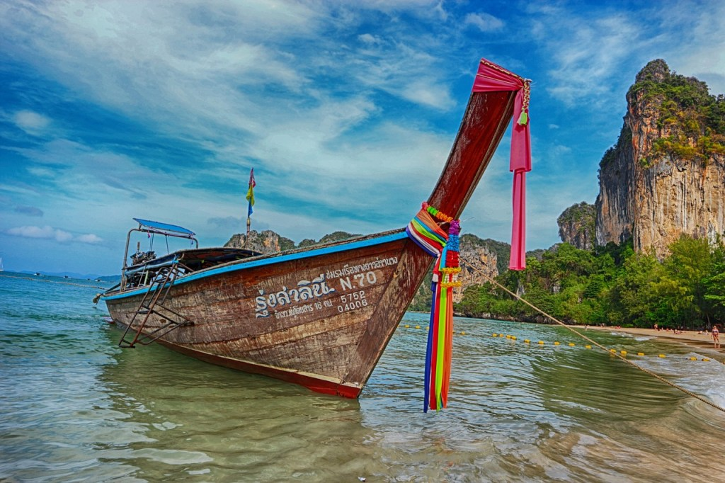 Exploring beaches in Thailand is one of the fantastic and fun holiday activities for couples