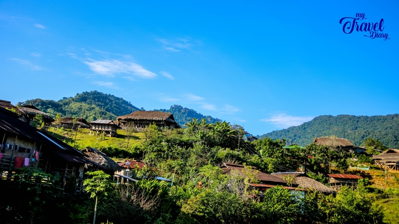Paya Village is a traditional Galo village in Aalo