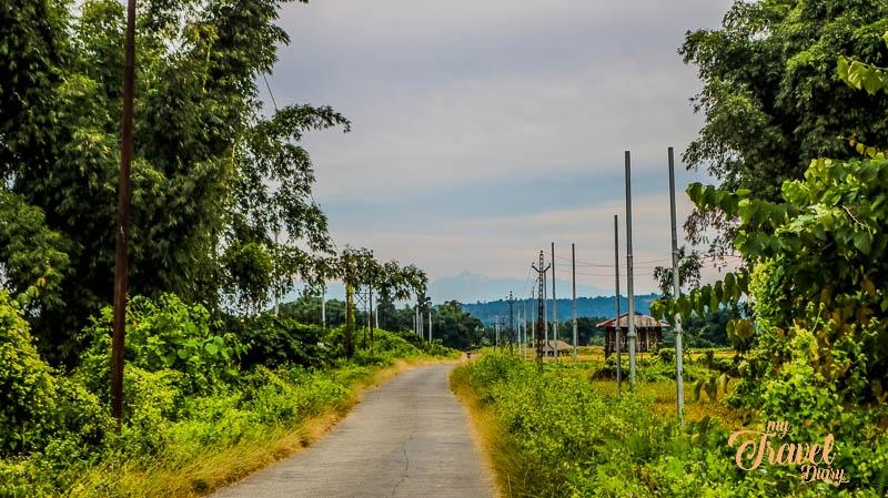Ledum village near Pasighat, Arunachal Pradesh