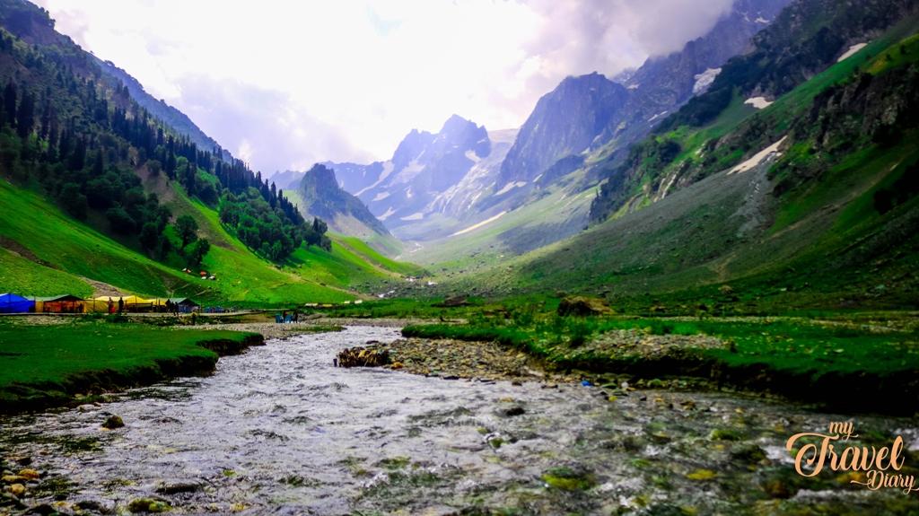 Thajiwas Glacier in Sonamarg, Kashmir