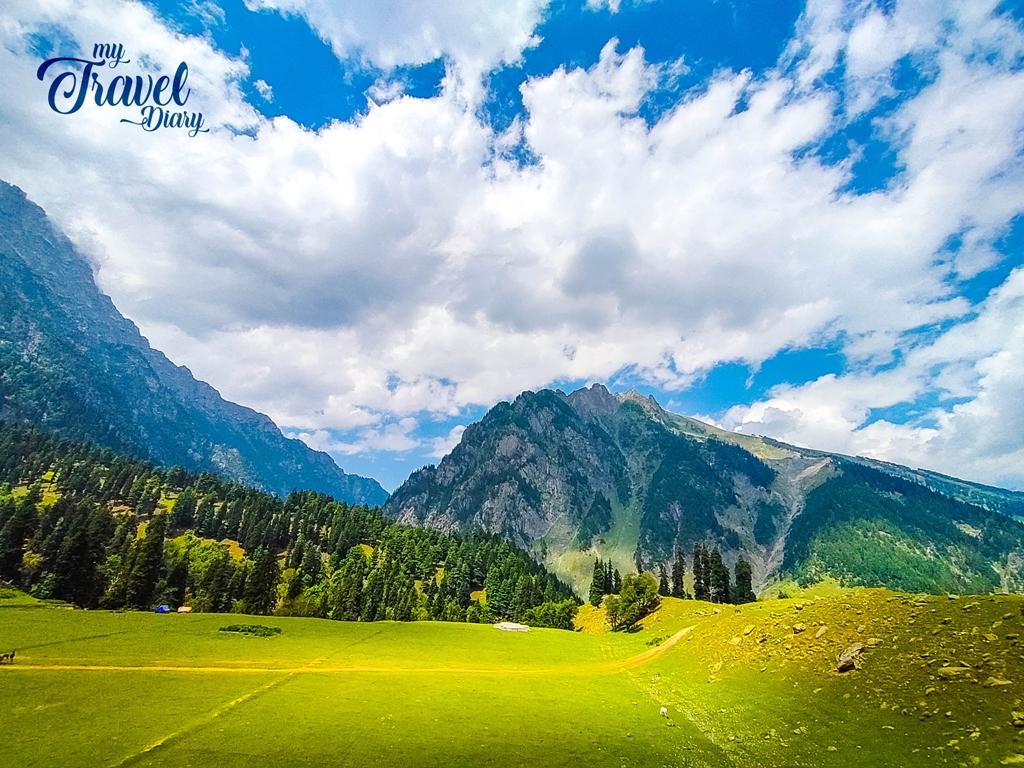 The famed golden light in the beautiful valley of Sonamarg, Kashmir