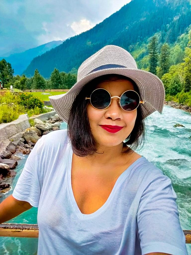 Me enjoying the valley of Sonamarg, Kashmir