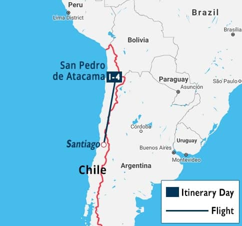 San Pedro de Atacama Short Stay   Altiplanic Lagoons - The Atacama Salt Flat Travel Deals   Cheap Valley of the Moon Vacation Packages   Geysers ...