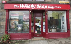 The Bacon Roll Challenge at the Whisky Shop in Dufftown in Scotland during the Spirit of Speyside Whisky Festival