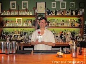 Distiller Jamie Baxter at the City of London Distillery