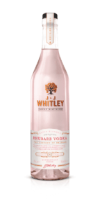 JJ Whitley Rhubarb Vodka Bottle