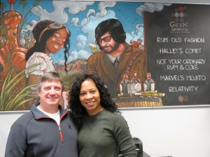 Gregg and Sherial Starr of Geek Spirits in Boulder, Colorado