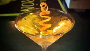 A Cocktail at Shady's cocktail bar in Phoenix Arizona