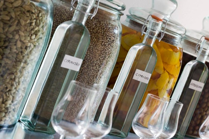 The botanicals that go into Gin Mare