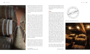 Cognac cellars pages in World of Cognac book review