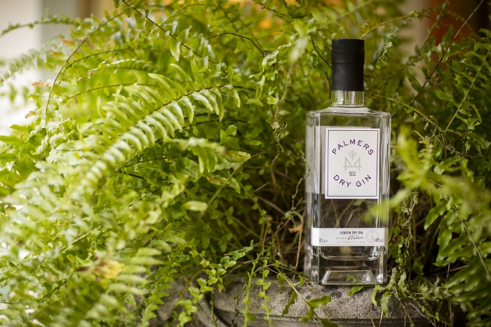 Palmers London Dry Gin bottle