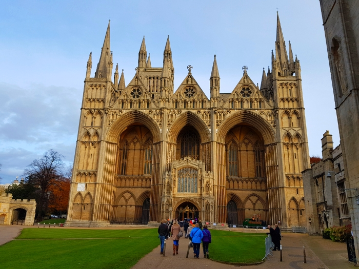 Peterborough Cathedral, location of the Peterborough Gin Festival