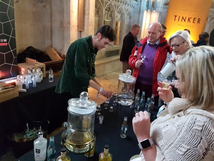 Peterborough Gin Festival free samples of PJ Gin