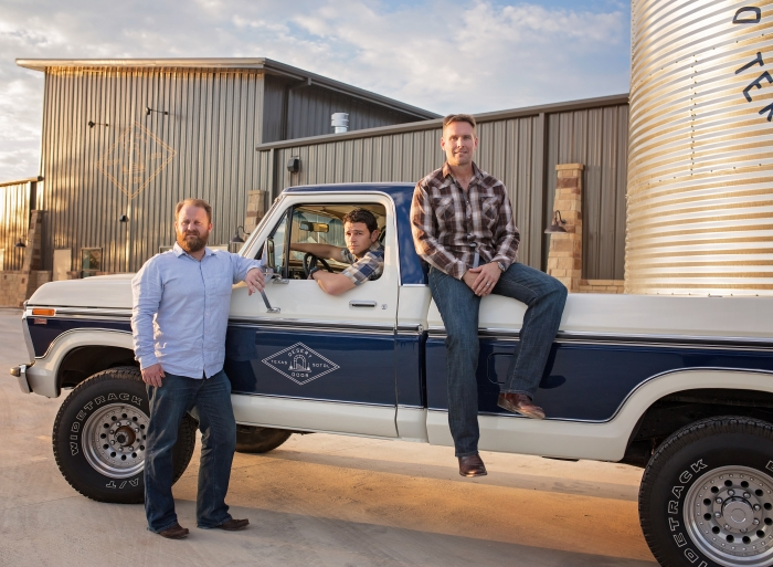 Desert Door Texas Sotol Founders Ryan Campbell Judson Kauffman and Brent Looby