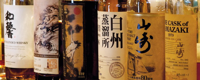 The Ultimate Guide to Japanese Whisky: whisky labels.