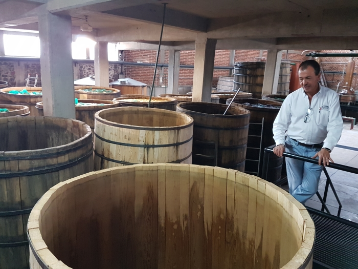 Carlos Camarena at the El Tesoro Distillery in Jalisco, Mexico.