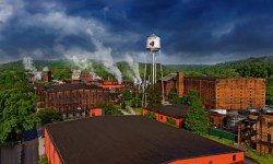 The Buffalo Trace Distillery in Kentucky