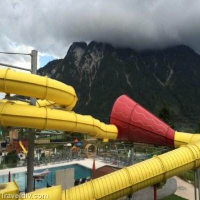 الزحليقة المائية للكبار و الصغار
