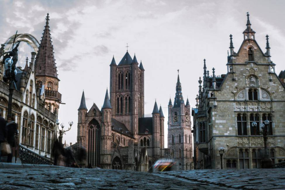 Take a day trip to Ghent.