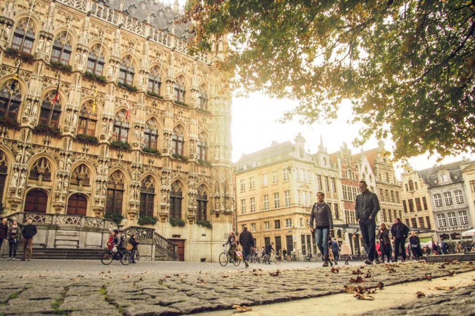 Take a day trip to Leuven.
