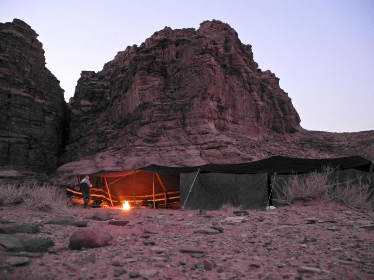 The Real Bedouin Tent Experience in Jordan