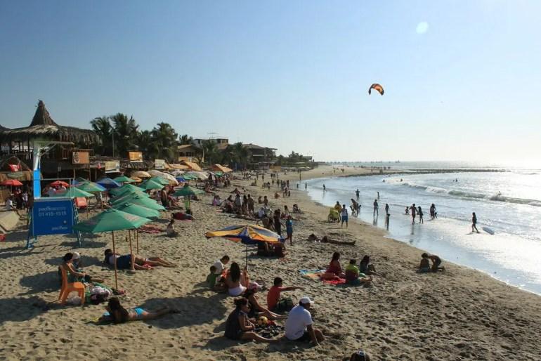 Manorca beach in Southern Peru