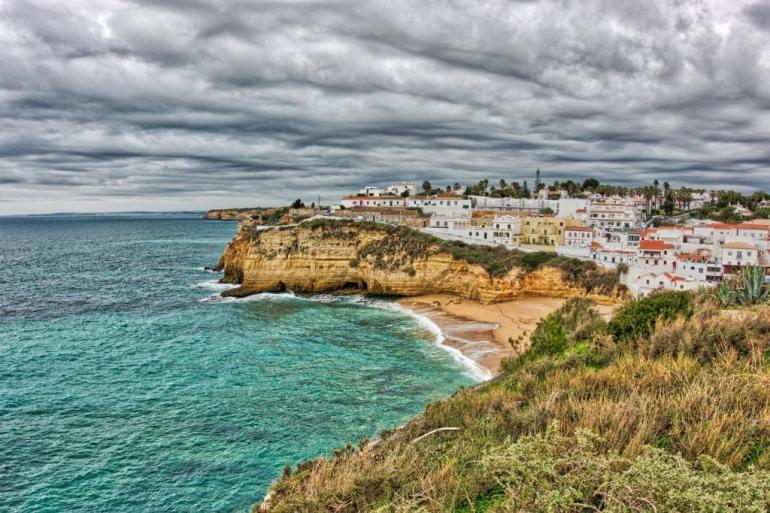 Beaches in Algarve, Portugal