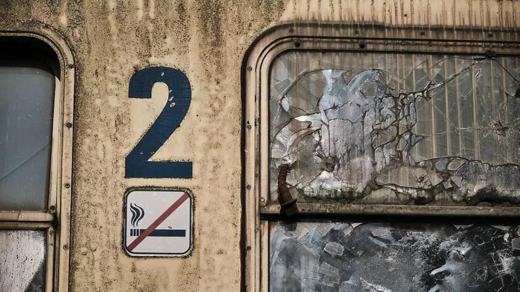 2nd Class train in Sri Lanka