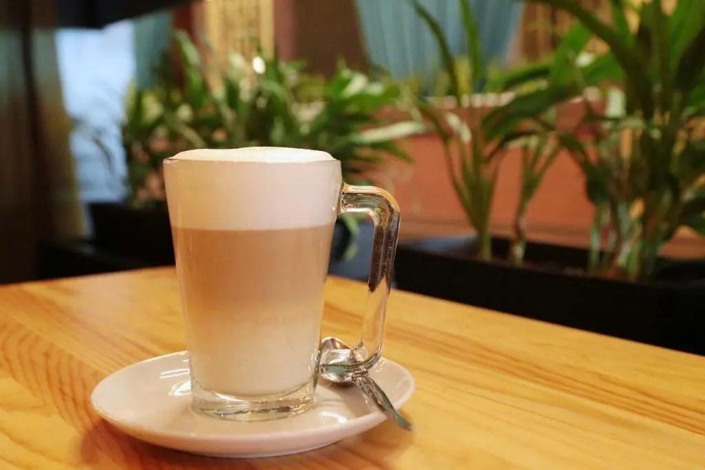 Galão coffee in Portugal
