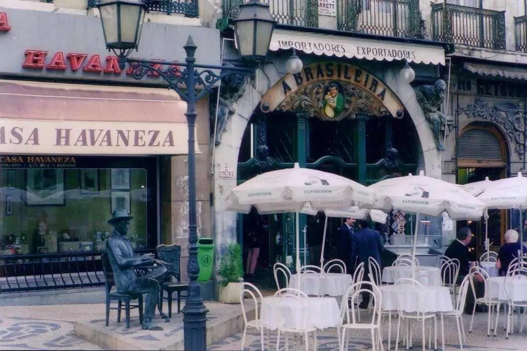 Cafe in Lisbon, Portugal