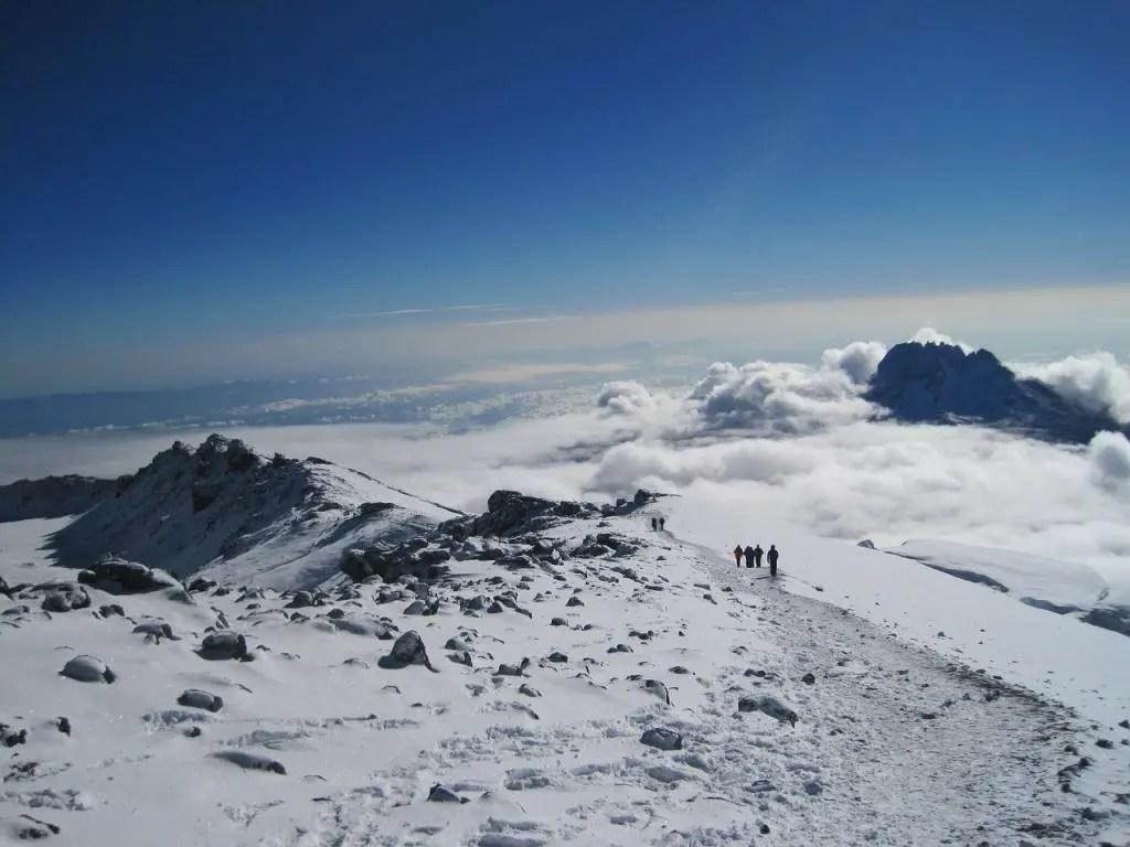 Mountains to climb - Kilimanjaro