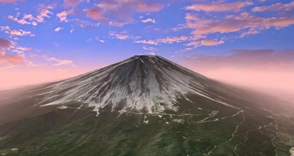 Mountains to climb - Mount Fuji
