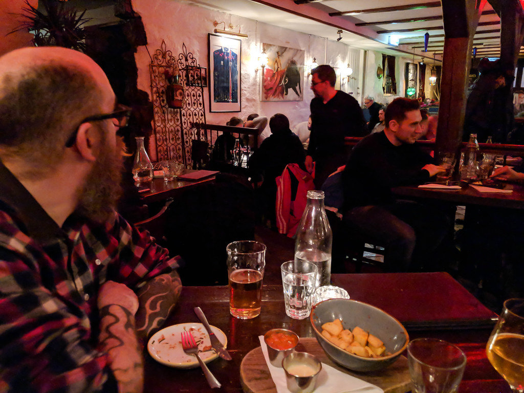 Traditional foods in Iceland at Tapas Barinn