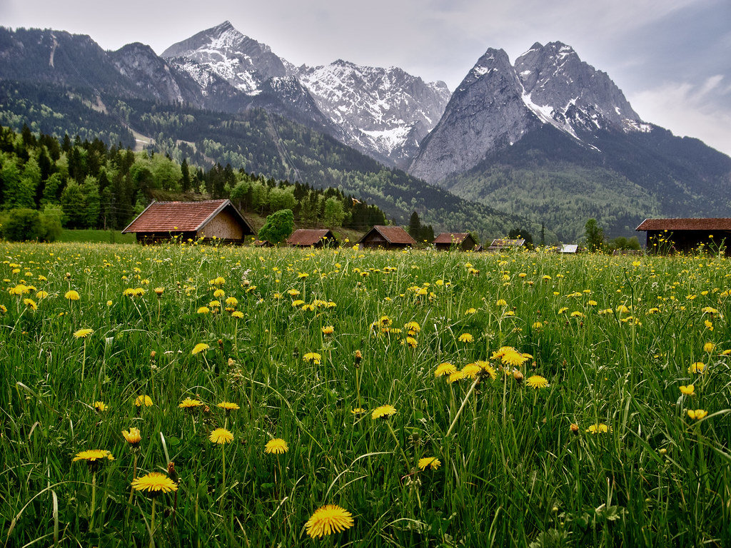 Germany's highest peak - Zugspitze
