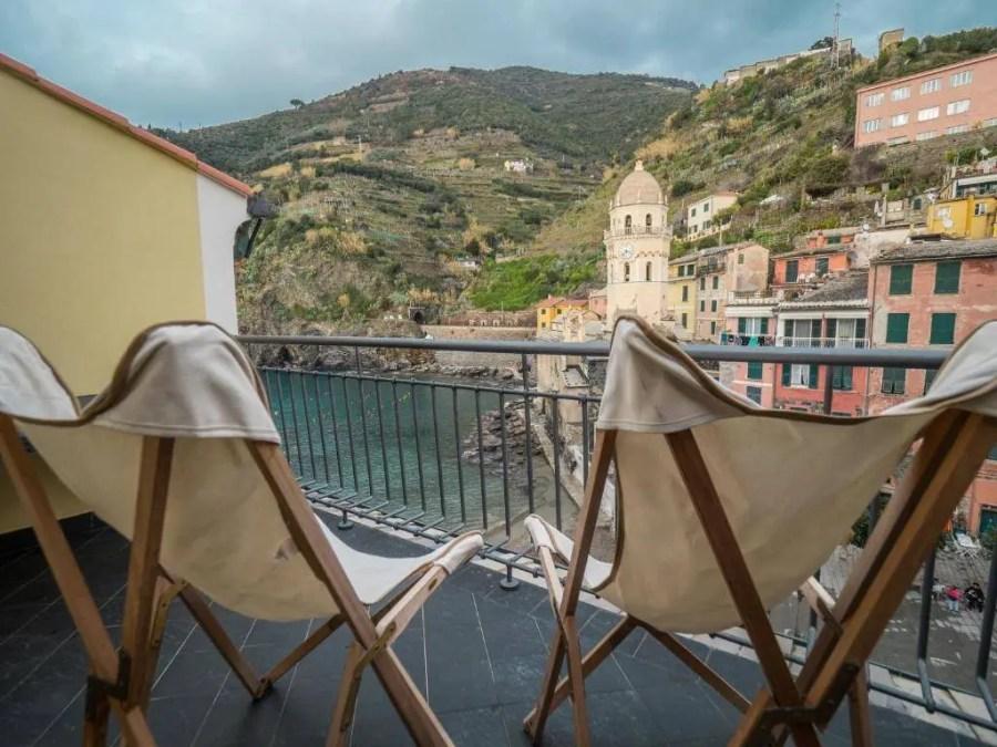 Lassu apartment in Cinque Terre