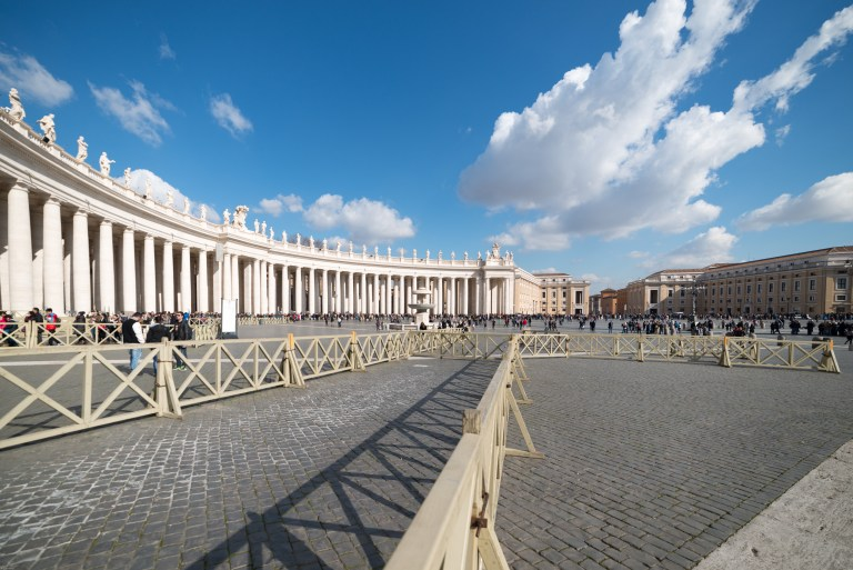 St. Peter's Square colonnades