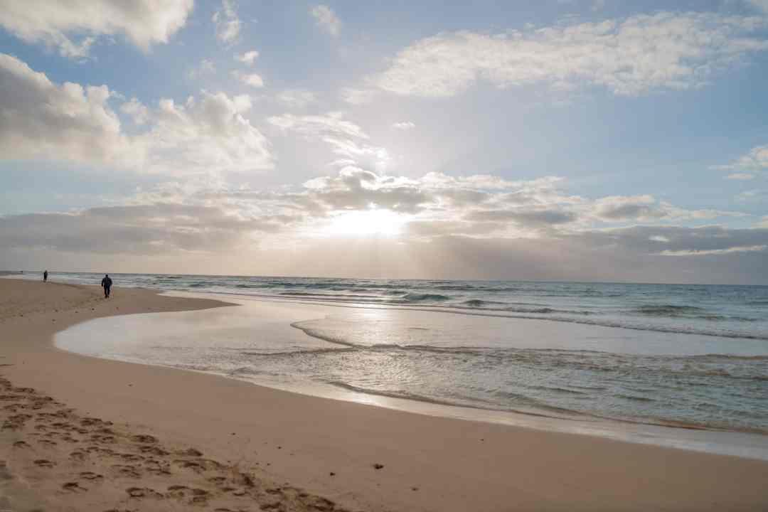 Sunrising over Playa Jandia