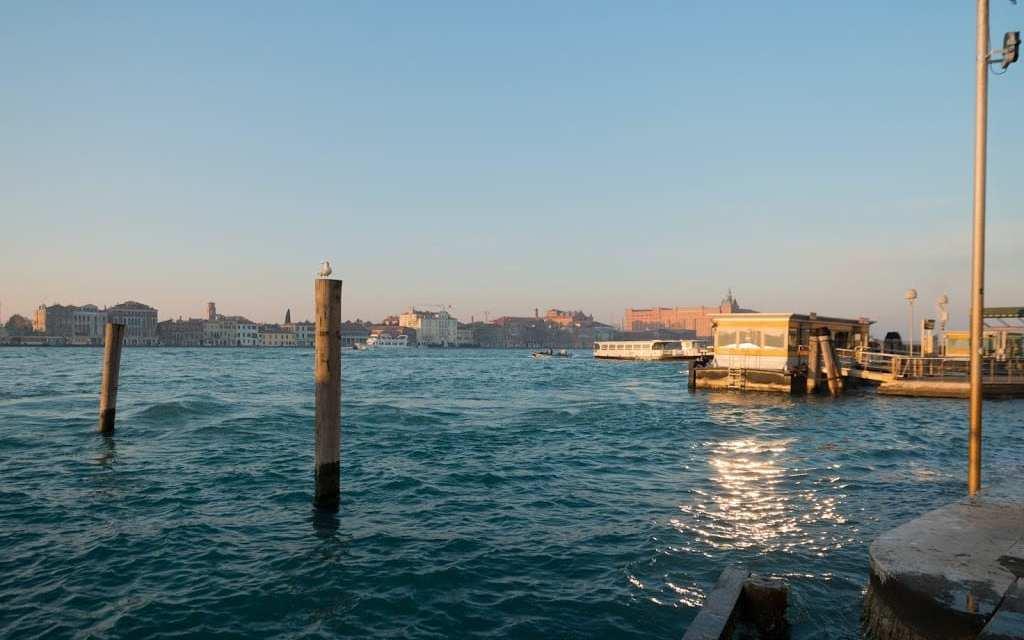 A still chilly Venice