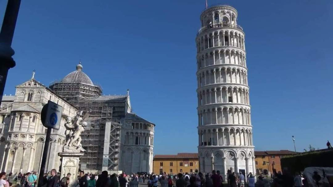 Tour of Pisa Italy in 4K